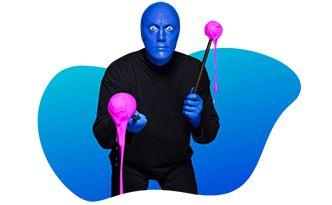 About Blue Man Group