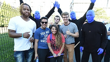 Finalists of 2018 Edition Blue Man Group Drum-Off Contest