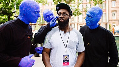 Winner of 2016 Edition Blue Man Group Drum-Off Contest