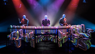 Bateria Blue Man Group Orlando