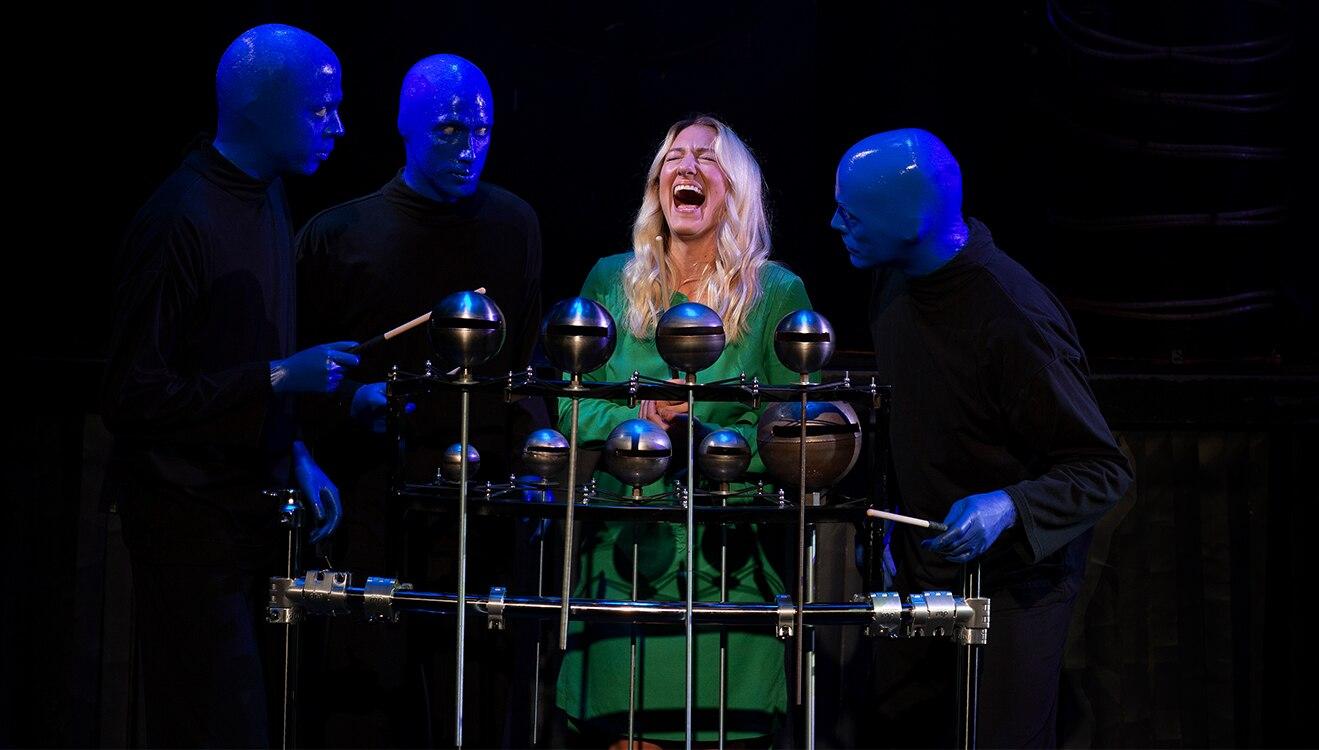 Blue Man Group Poncho