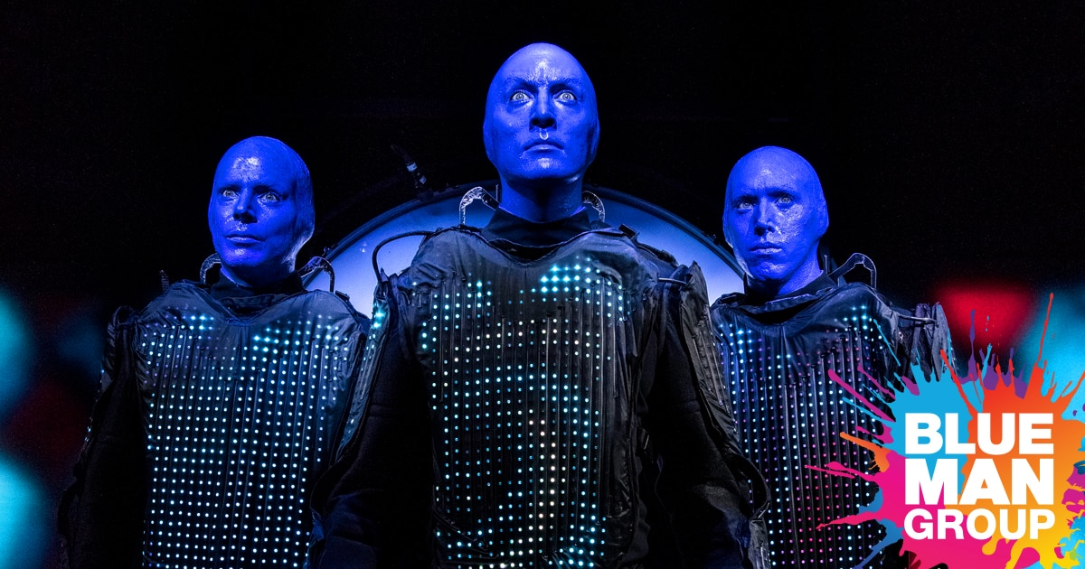 Buy Tickets for Blue Man Group shows in Boston | Blue Man Group