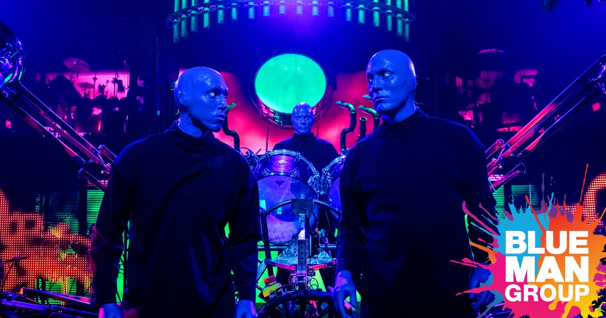 Buy Tickets For Blue Man Group Shows In Chicago Blue Man Group